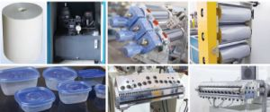 Automatic Plastic PP/PS/PE/HIPS Sheet Extruder pictures & photos