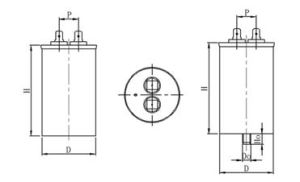 Cbb65 AC Motor Capacitor (aluminum case, anti-explosion) pictures & photos