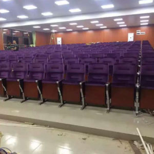 Auditorium Seating, Conference Hall Chairs, Push Back Auditorium Chair, Plastic Auditorium Seat, Auditorium Seating, Auditorium Seat, (R-6148) pictures & photos