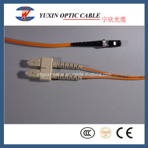 MTRJ-Sc Multimode Duplex Fiber Optic Patch Cable (50/125)