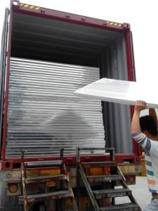 Light Weight EPS Foam Panel for Steel Structural Workshop pictures & photos