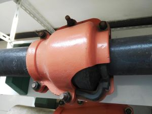 Ppipe Repair Clamp, Leaking Pipe Repair Clamp for Spigot to Socket PE, PVC Pipe pictures & photos