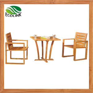 3PCS Bamboo Chair Tea Table Set pictures & photos