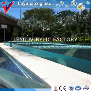 Plexiglass Sheet for Hotel Swimming Pool pictures & photos