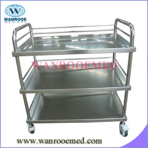Three Layer Dressing Trolley pictures & photos