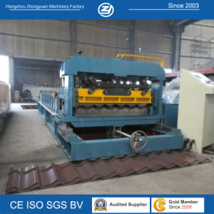 Professional Coated Steel Coil Roofing Tile Making Machine pictures & photos