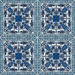 Blue Pattern Rustic Pattern Porcelain Tiles (AJMK6530) pictures & photos