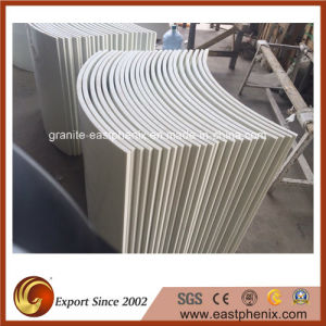 Polished White Artificial Crystallized Glass Interior Wall Stone Decoration pictures & photos