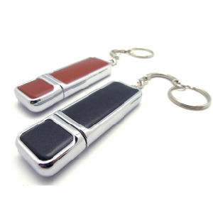 1GB USB Flash Drive 64GB Leather USB Stick pictures & photos