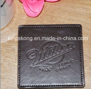 Promotional Gifts Popular Good Quality Cheap Custom PU Coaster pictures & photos