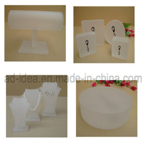 Frosted Acrylic Display Stand/Display Stand for Jewelry Exhibtion pictures & photos