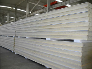 Thermal Insulated Polyurethane PU Sandwich Panel for Building Material pictures & photos