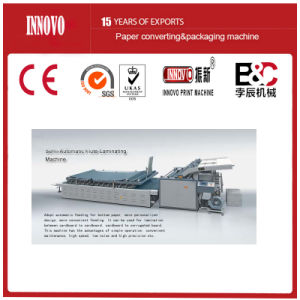 Hot Sell Semi-Automatic Flute-Laminating Machine pictures & photos