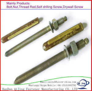 Expansion Steel Bolts Chemical Anchor pictures & photos
