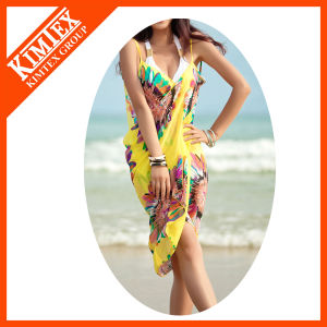 High Quality Cotton Fabric Printing Beach Pareo pictures & photos