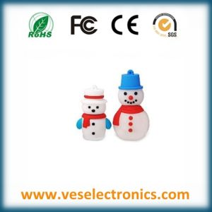 New Year Gift Snowman Designed USB Excellent Quality Pendrive pictures & photos