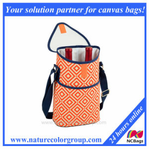 Two Bottle Cooler Bag Wine Bag pictures & photos