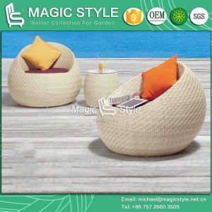 High Quality Weaving Daybed Patio Wicker Daybed Leisure Sun Bed (Magic Style) pictures & photos