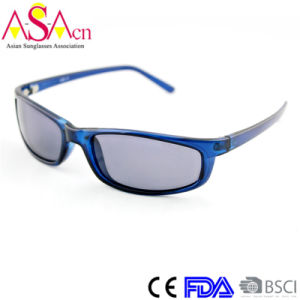 New Promotion Fashion Simple Polarized Sunglasses with FDA Certification (91009) pictures & photos