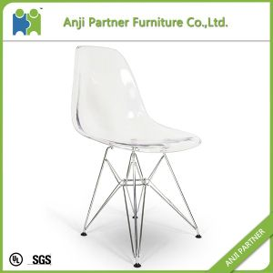 Kid′s Small Model Dining Chair with PC Seat and Chromed Steel Base (Lingling-K) pictures & photos