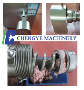 Double-Screw Meat Mincer for Chicken Sausage pictures & photos