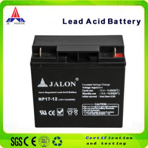 Deep Cycle Maintenance Free Battery for LED Light (12V17AH)