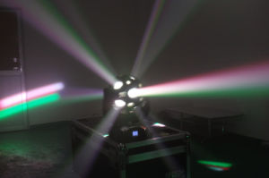 12 PCS RGB LED Football Moving Head Light pictures & photos