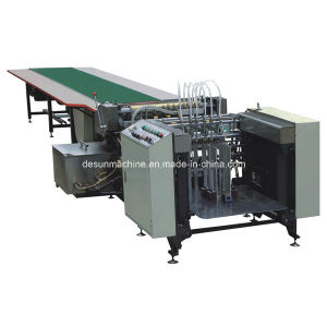 Automatic Paper Feeding & Gluing Machine for Box Making (YX-650A) pictures & photos