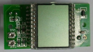 Tn/Btn LCD Module with Pin Feet and IC PCB