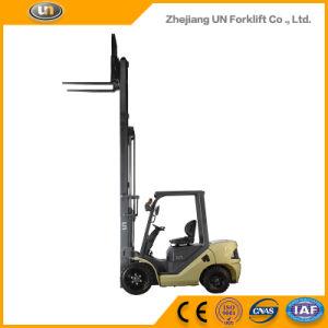 Unique Un Brand 2.5t Diesel Forklift with Triplex 7.0m Mast pictures & photos