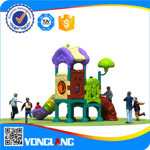 Children Plastic Slide Colorful Cheap Outdoor Playground Equipment (YL-Y055) pictures & photos