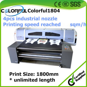 Dgt Textile Printing Machine, Top Fast Speed Cotton Fabric Printer Printing on Cotton, Silk, Wool Fab