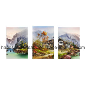 Landscape Printed Painting on The Canvas (PD0027) pictures & photos