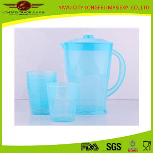 Candy Color Plastic Water Jug Set pictures & photos
