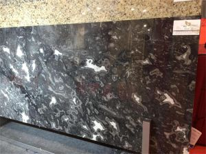 Black Storm Marble for Floor, Countertop, Tile pictures & photos