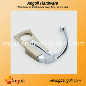 An1011 Zinc Alloy Two Tone Hook Clothes Hanger pictures & photos
