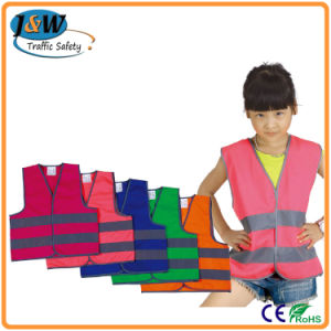 High Visibility Reflective Safety Children Jackets Safety Vest with En471 pictures & photos