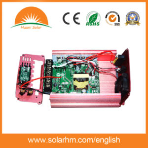 (HM-24-800Y) 24V 800W Solar Inverter with 20A Controller pictures & photos