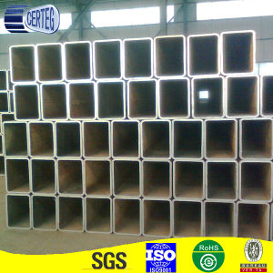 Common Carbon Welded Steel Rectangular Tube or Pipe pictures & photos