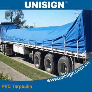 Fire Retardant PVC Tarpaulin for Truck Covers pictures & photos