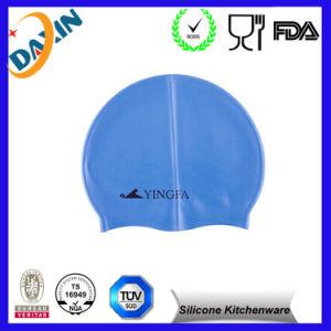 Customized Design Wholesale 100% Silicone Swimming Cap pictures & photos