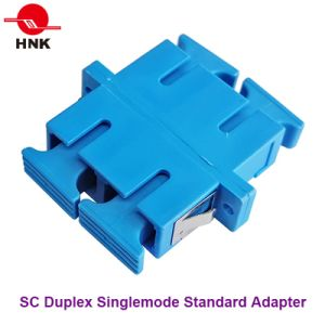Sc Duplex Singlemode Standard Fiber Optic Adapter pictures & photos