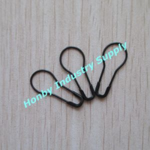 Fancy Black Color Bulb Safety Pins for Hang Tag (P160106B) pictures & photos
