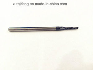 Solid Carbide 2 Flute Taper Ball Nose End Mills pictures & photos