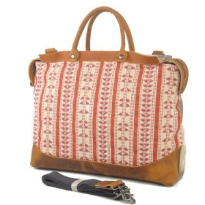 Leisure Colorful Embroidary Jacquard Women Hand Bag (RS-2012) pictures & photos