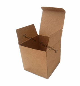 Brown Craft Paper Gift Folding Box/Carton Box/Candle Box