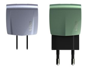 Ce/RoHS/FCC 5V 2.4A Dual USB Universal Travel Wall Home Charger pictures & photos