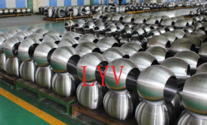 Worm Gearbox Flanged Cast Steel Ball Valve pictures & photos