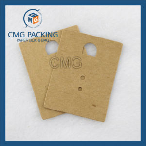 Beige Paper Earring Card Earring Display Card (CMG-079) pictures & photos