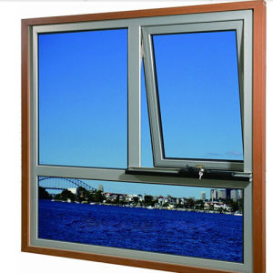 Trendy Nice Designservice Aluminum Awning Top Hung Window (TS-1034) pictures & photos
